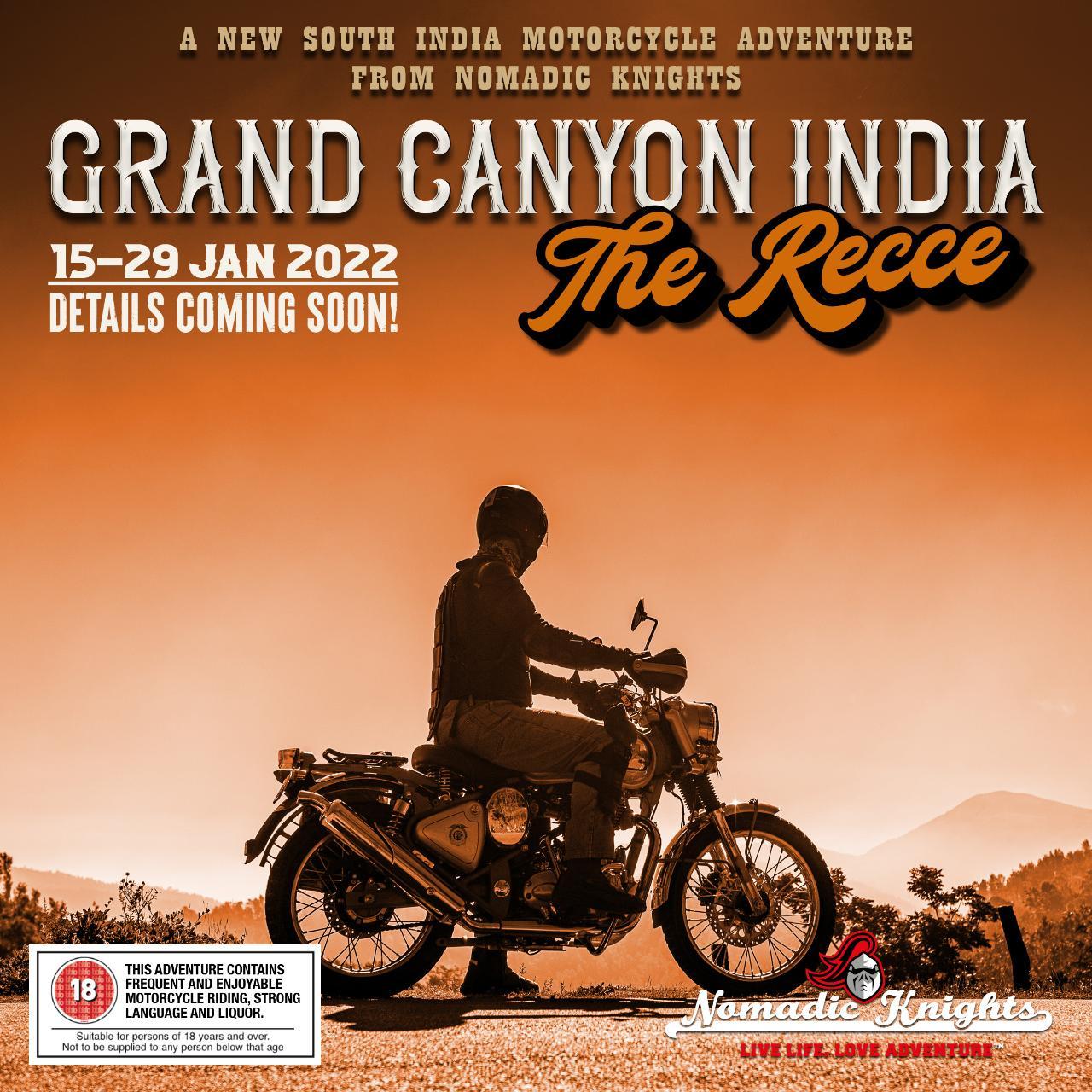 GRAND CANYON INDIA - THE RECCE: 15 - 29 JAN 2022
