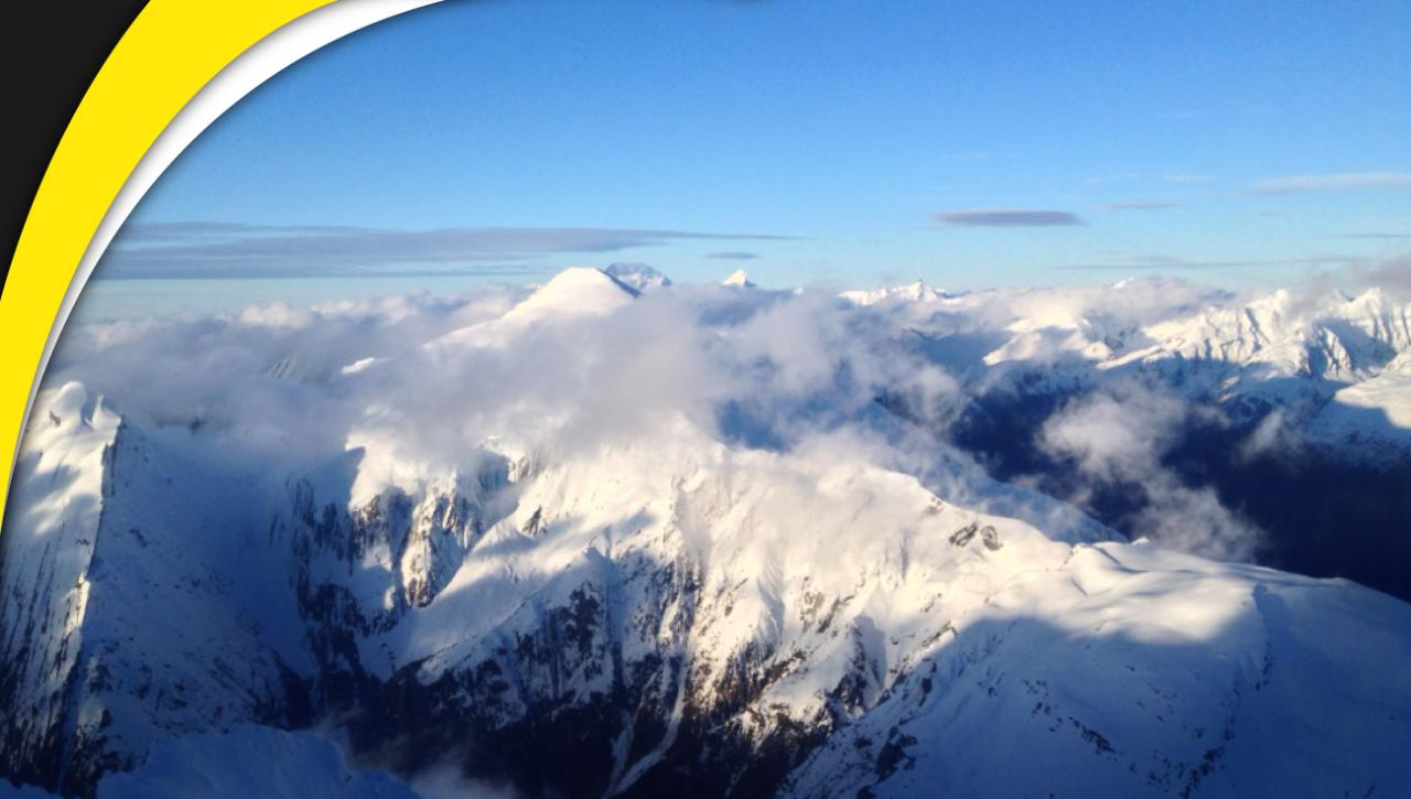 Mt Aspiring and Glaciers