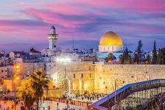 Rev Tommy Bye 10-Day Journey to the Holy Land, November 5 – 14, 2021