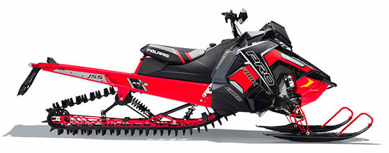 "2018 Polaris Axys (800cc) 163""  2.6"" belt drive"