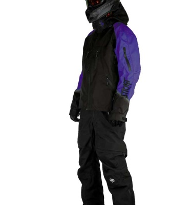 Snowmobile Suit (jacket, snowpants, boots, gloves, goggles)