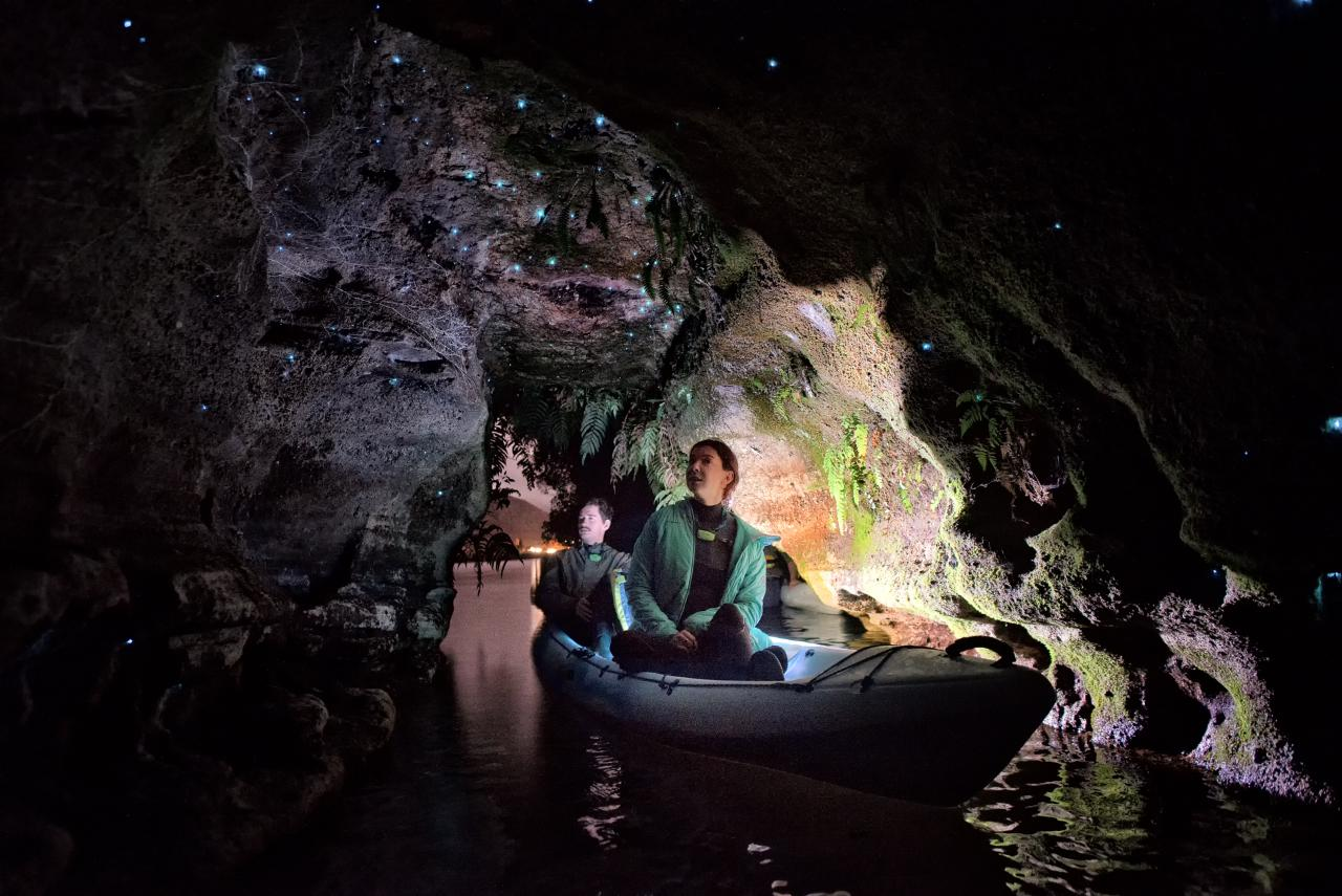 Twilight Kayak Glow Worm Tour