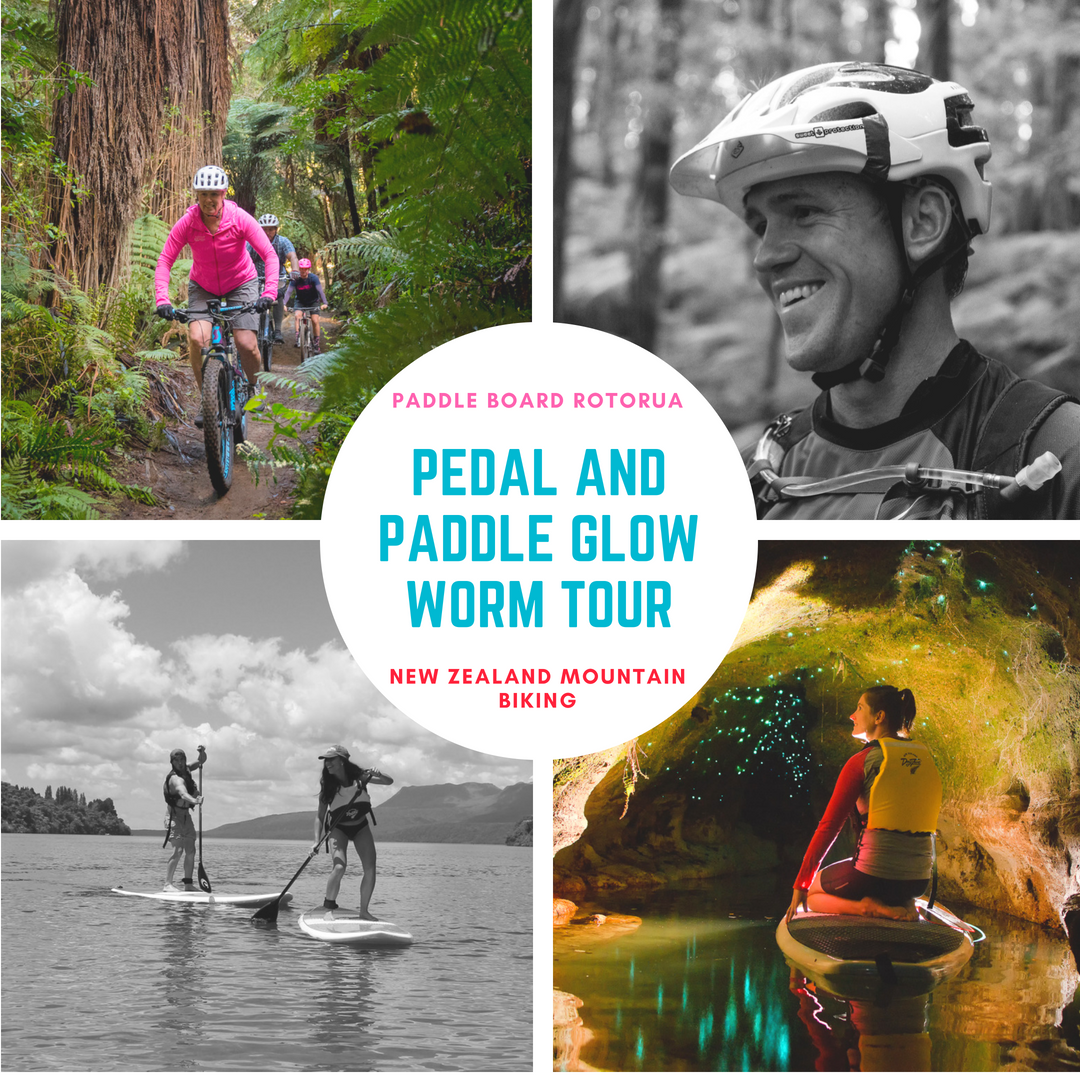 Pedal and Paddle Glowworm Tour