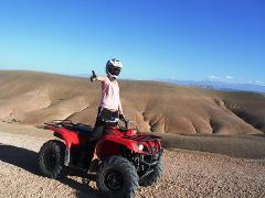 Quad Bike in Agafay Desert 1 HOUR * Expérience Quad au désert d'Agafay 1 HEURE