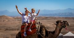 Private Camel Ride in Agafay Desert * Balade exclusive en dromadaire à Agafay