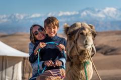 Oasis Camel Ride in Agafay * Balade en dromadaire à Agafay