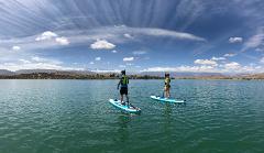 Stand Up Paddle on Lalla Takerkoust Lake