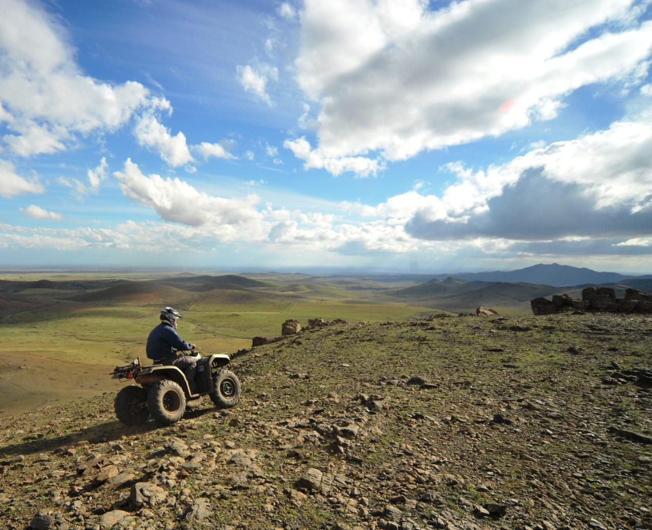 Quad Bike in the Desert of the Jbilets - Full Day