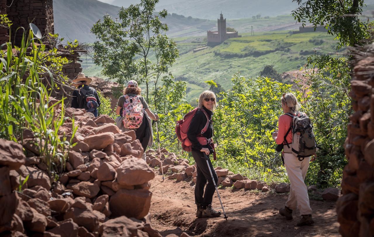 Day Trip by Foot in Atlas Mountains From Marrakech * Journée à pied dans l'Atlas