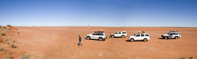Package- 8 Day Simpson Desert + 10 Day Hay River