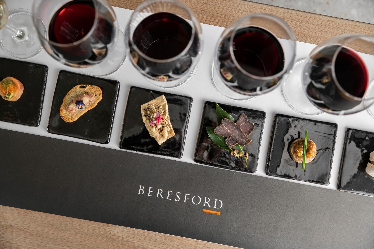 Paired Wine & Food Tasting Experience
