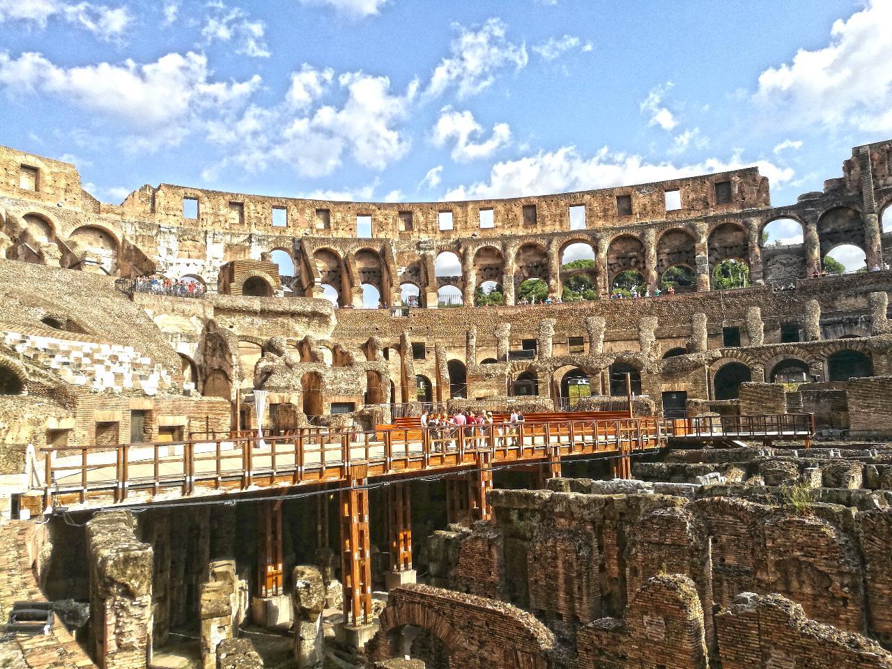 Colosseum Underground Tour — Max 12 People
