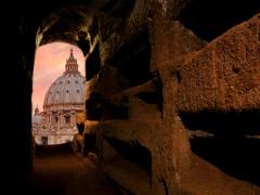 Roman Catacombs + Vatican City Tour