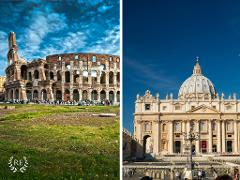 Rome In One Day: Colosseum, Piazzas, Vatican City