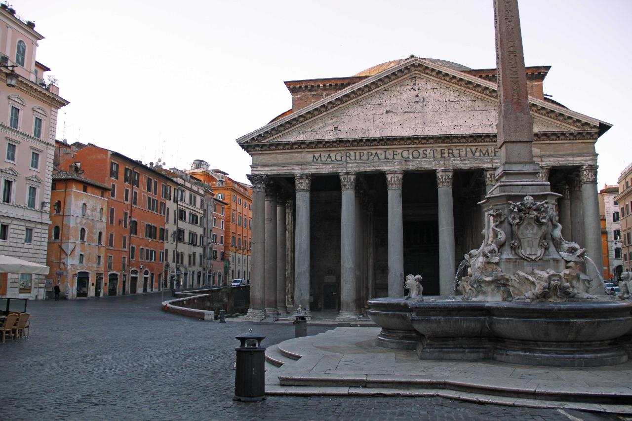 Early-Bird Rome Tour: Streets, Piazzas and Fountains