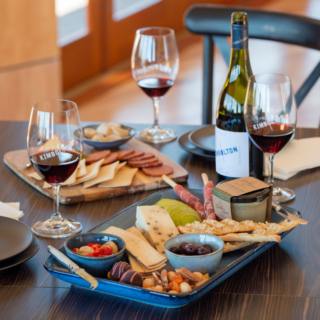 Seated Wine Tasting and Platter for 2