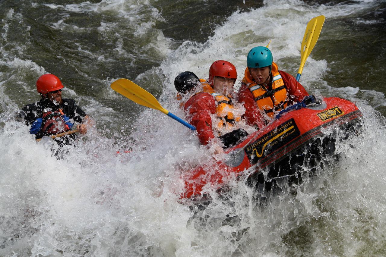 Buller Gorge Rafting