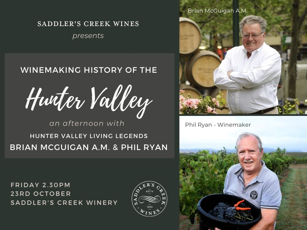 LEGENDS - History and evolution of Hunter Valley wine