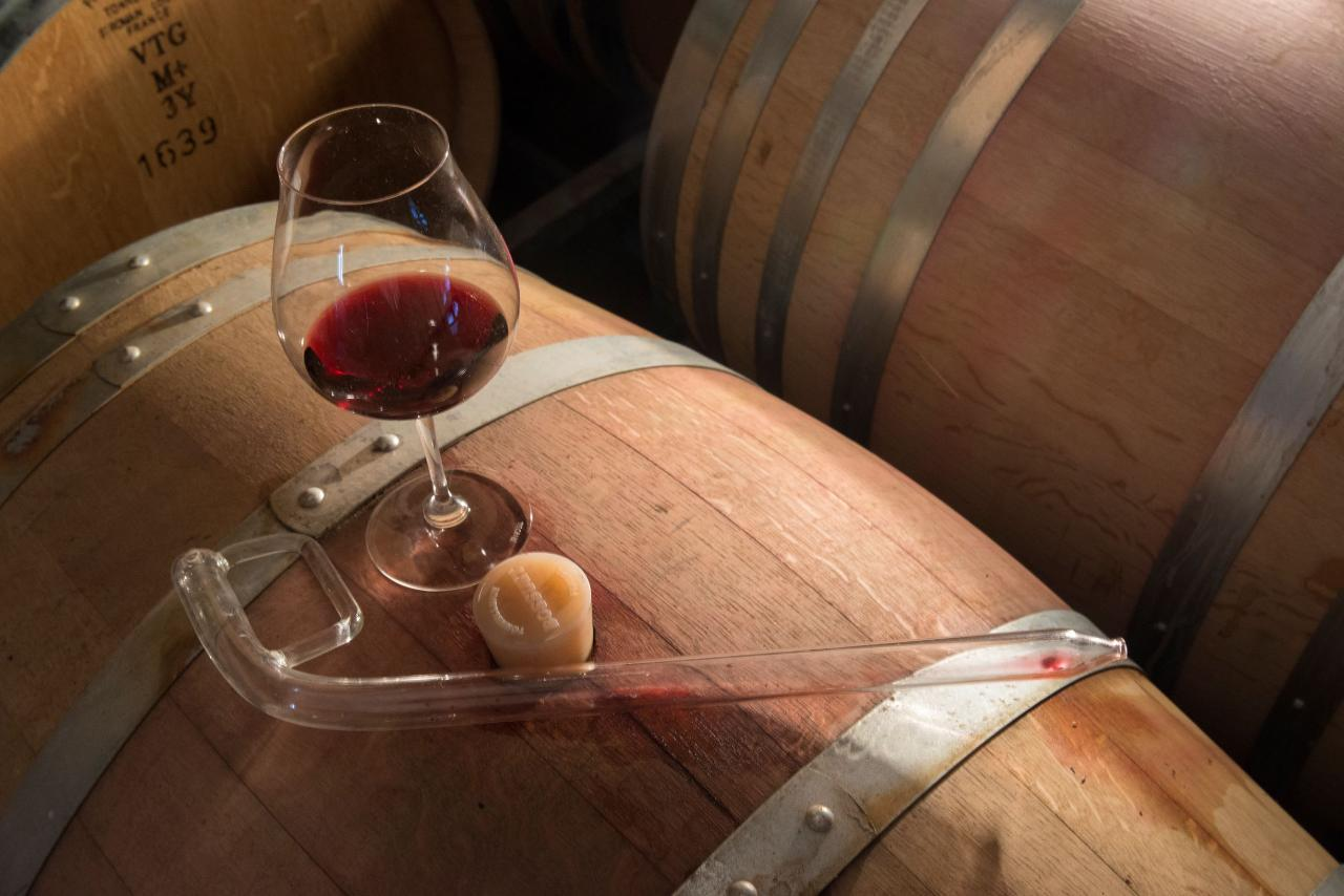 Barrel Room Tasting with the Winemaker