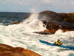 BC Sea kayak Leader James Stevenson 19 -20 September 2020  ( 4* training)