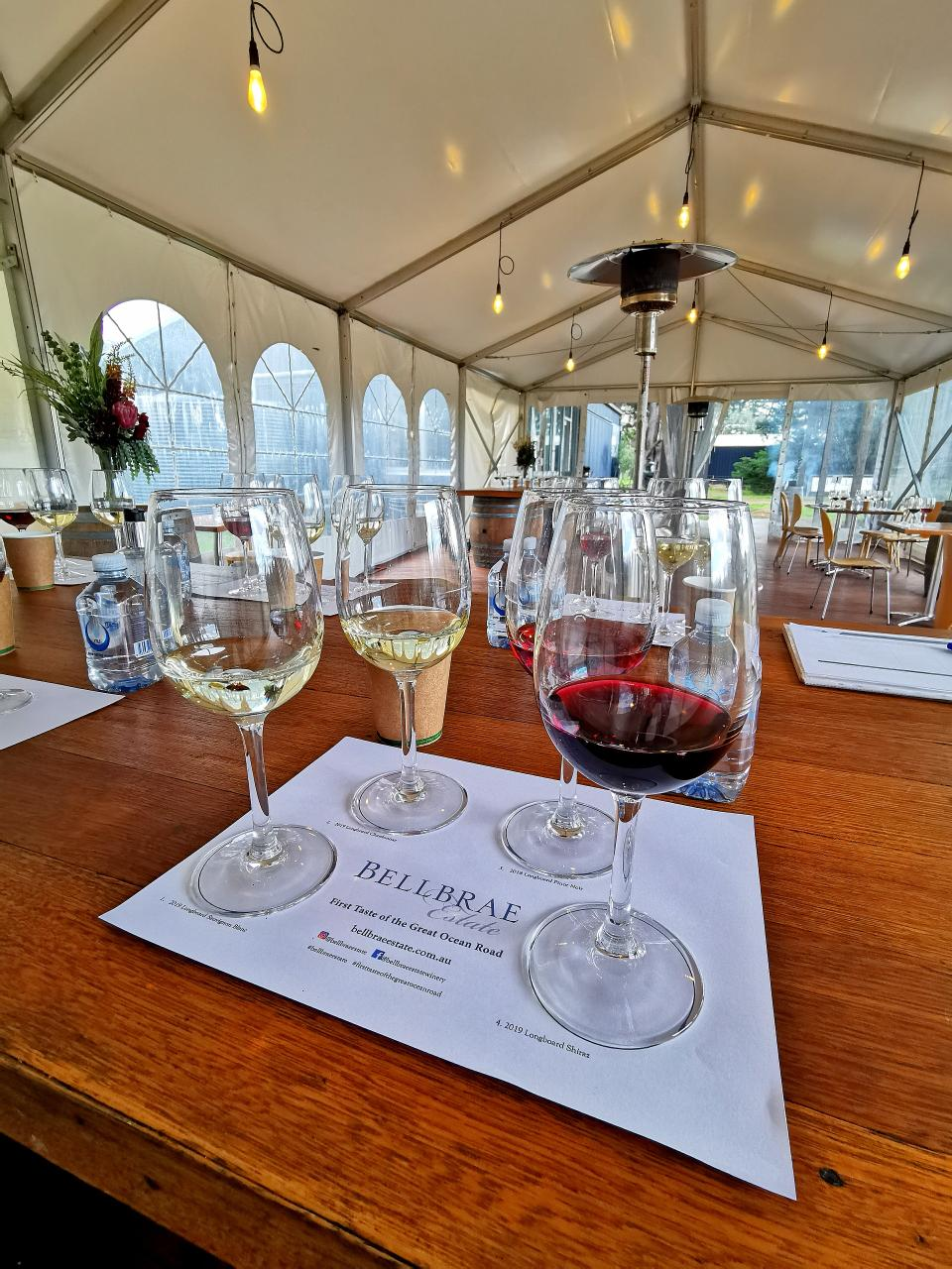 Wine Tasting Experience at Bellbrae Estate