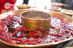 Chengdu Hotpot, Tea & Market Experience