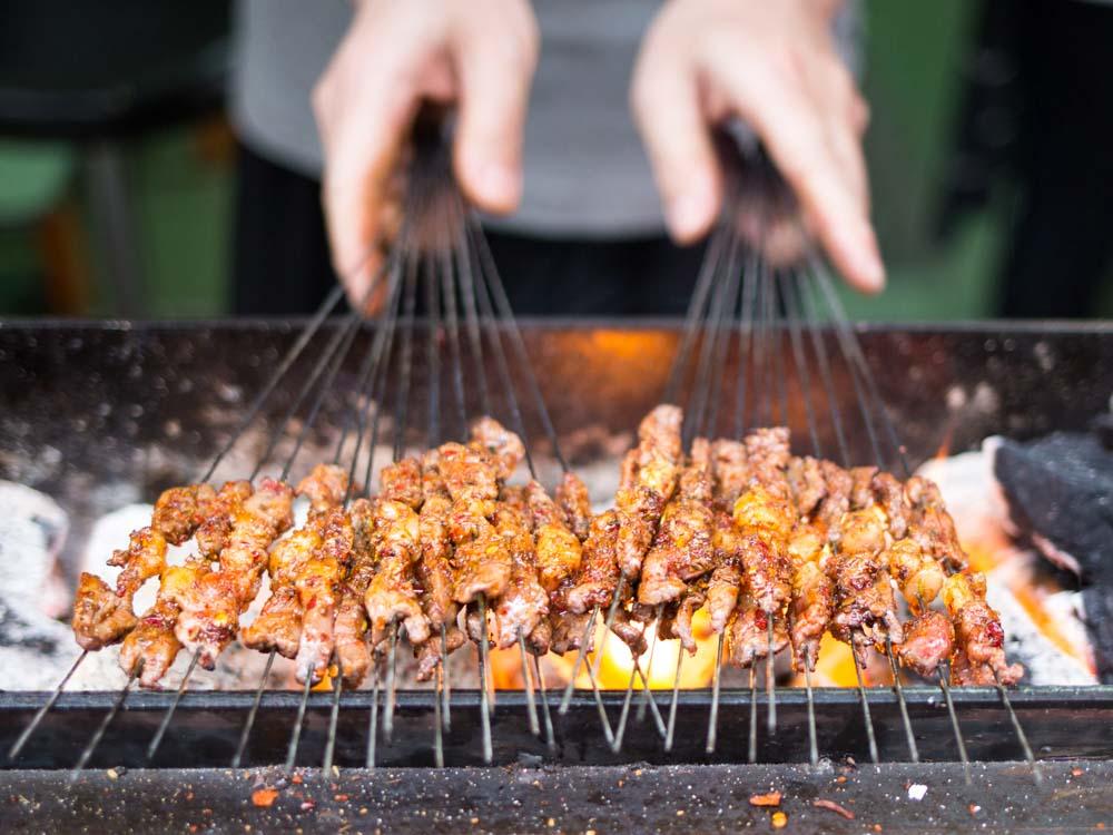 Xian Evening Food Tour by Tuktuk
