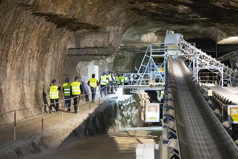 Visit the rock salt mine in Loule