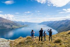 From Queenstown: Wanaka Scenic, 4WD & boat trip Combo