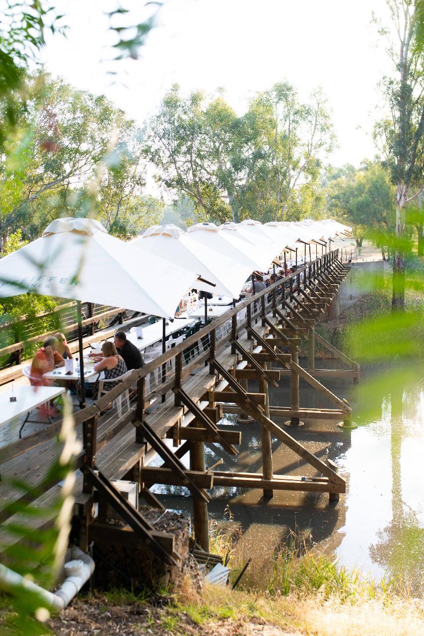 Reserved Seating On Sunday Creek Bridge