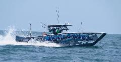 Offshore Fishing with Capt. William Bradford -37ft. Freeman Cat--Quad 300 Yamaha Outboards. 2000.00 Plus fuel. Fuel Avg. is 600.00.