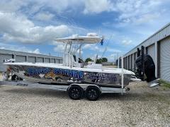 Inshore Fishing with Capt. Damon McKnight--26ft. Barker Boatworks-400 H.P. Mercury Verado.