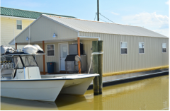 Houseboat Lodging (Super Strike 1) - Venice Marina-On the Water