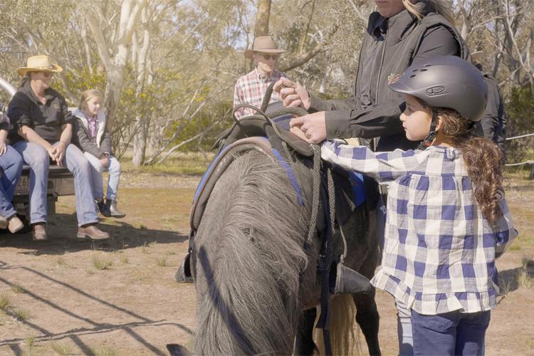 Pony Ride - 15 Minutes - Woodlands Historic Park