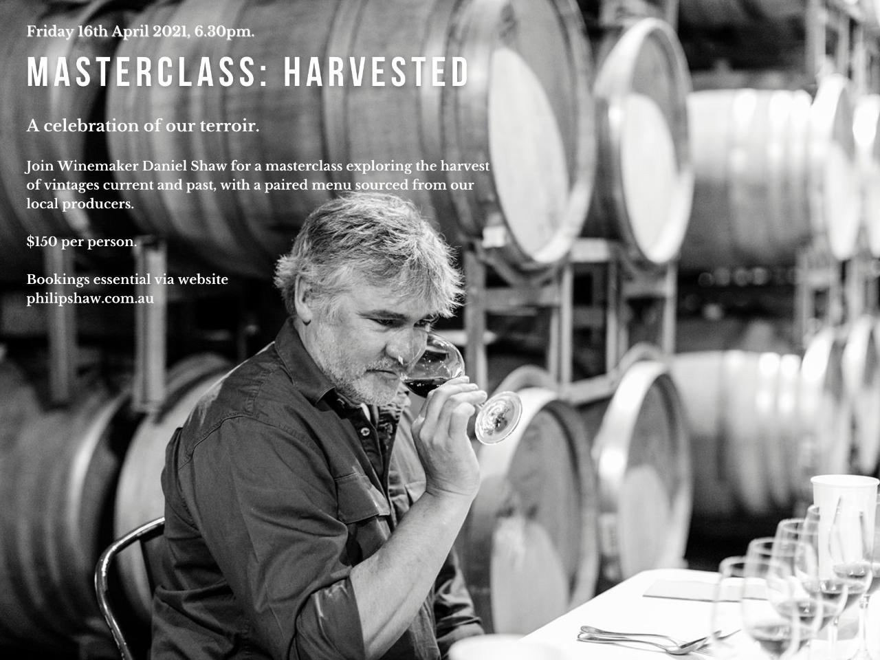 Masterclass: Harvested