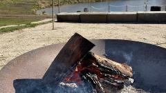 Winter Fire Festival Fire Pit