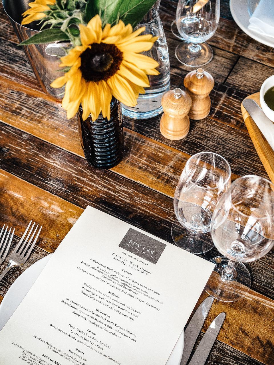 Vintner's Table  - MARCH CXD