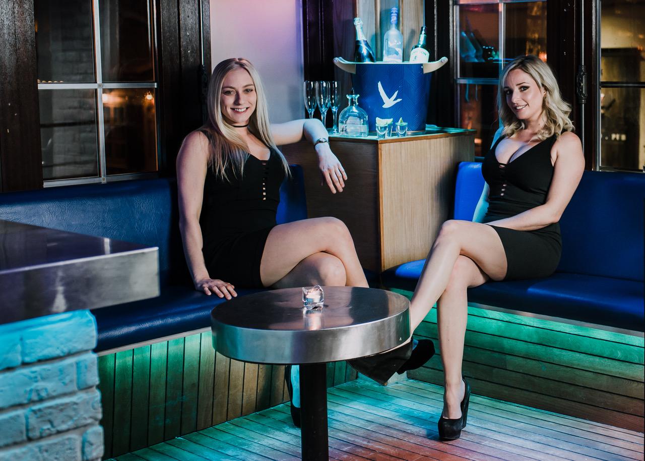 Bachelor VIP Corner Booth