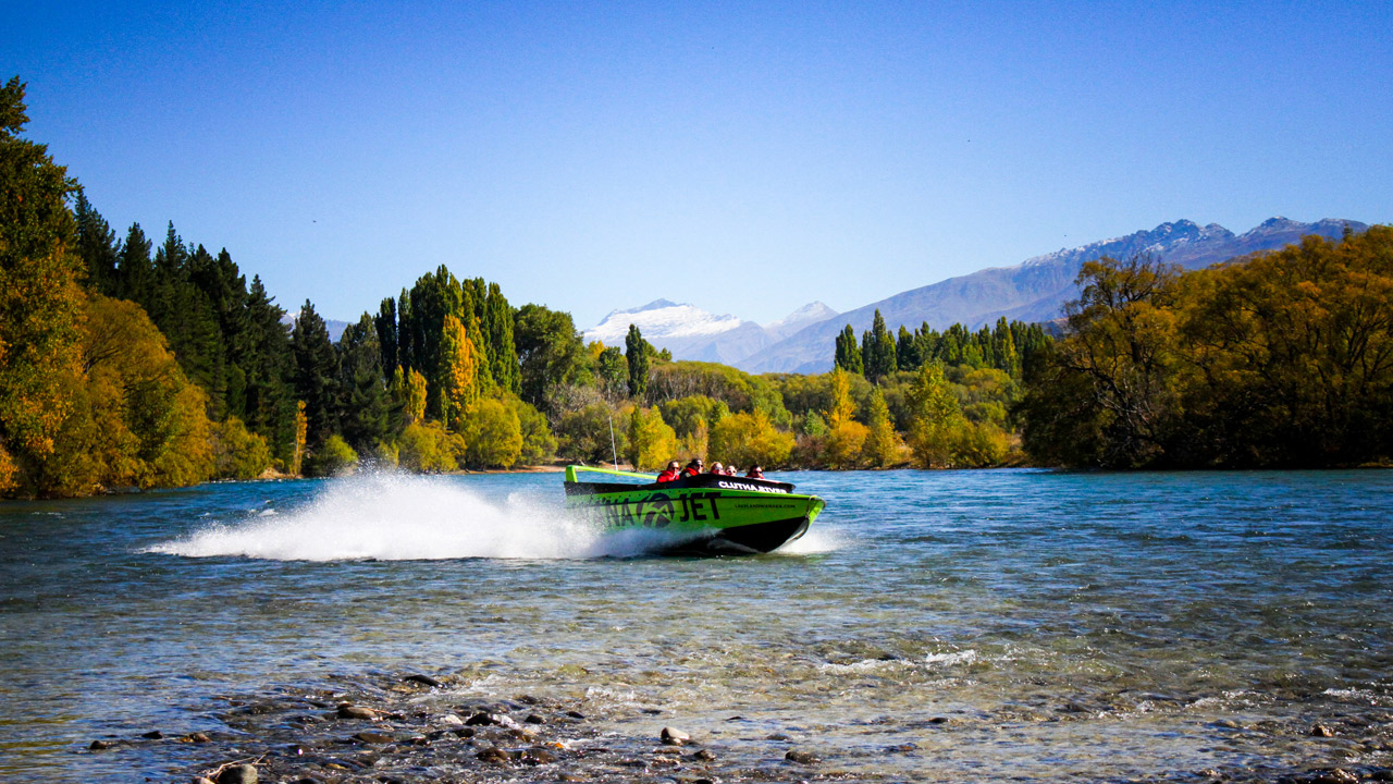 Wanaka Jet Boat Ride | Lake Wanaka & Clutha River