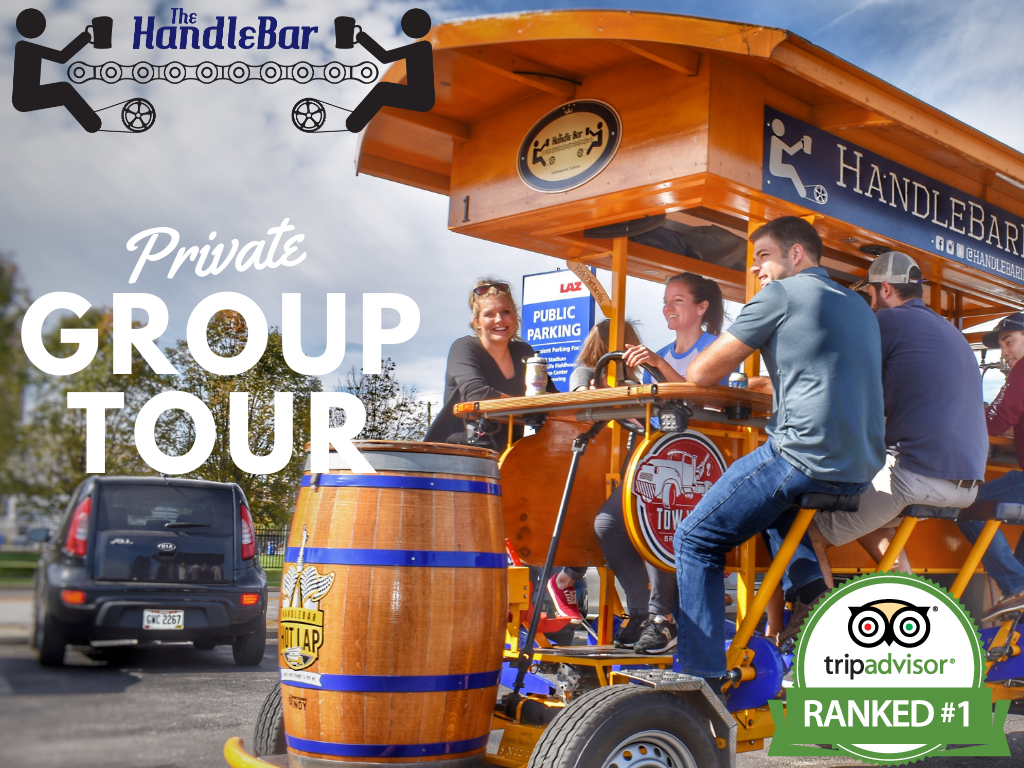 Private Group Tour - 100% Pedal (up to 16 riders)