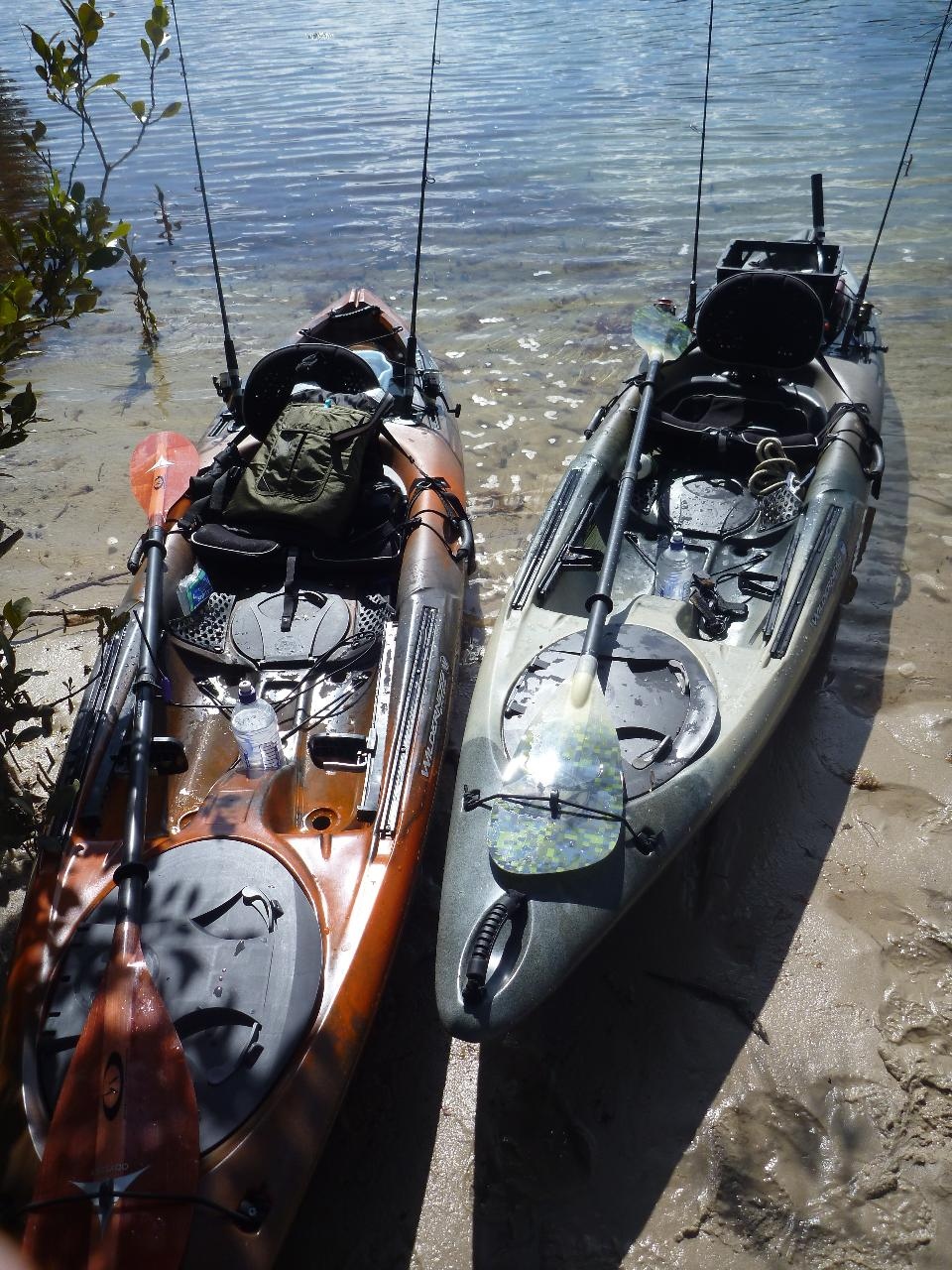 Fishing Kayak Hire, All Day