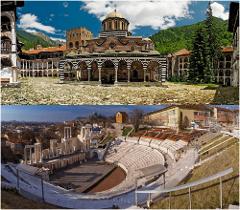 Rila monastery + Plovdiv city