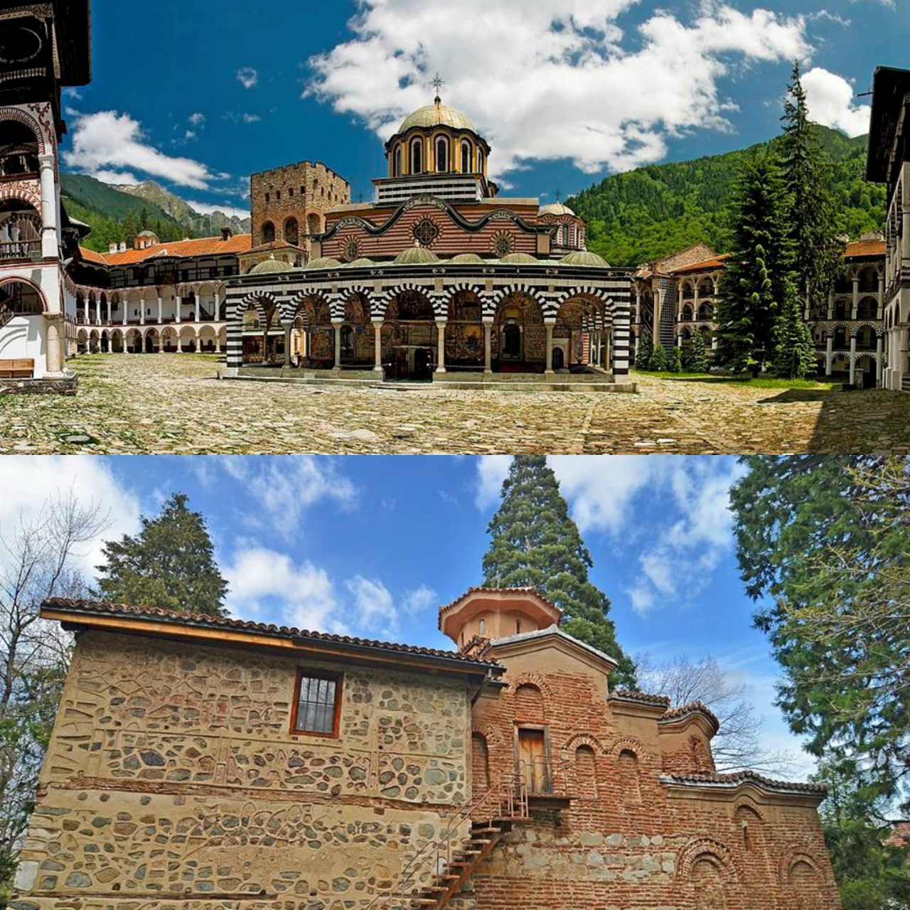 Rila monastery + Boyana church