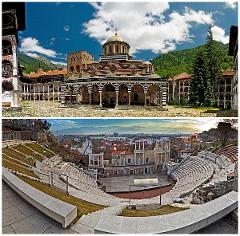 Rila monastery + Plovdiv