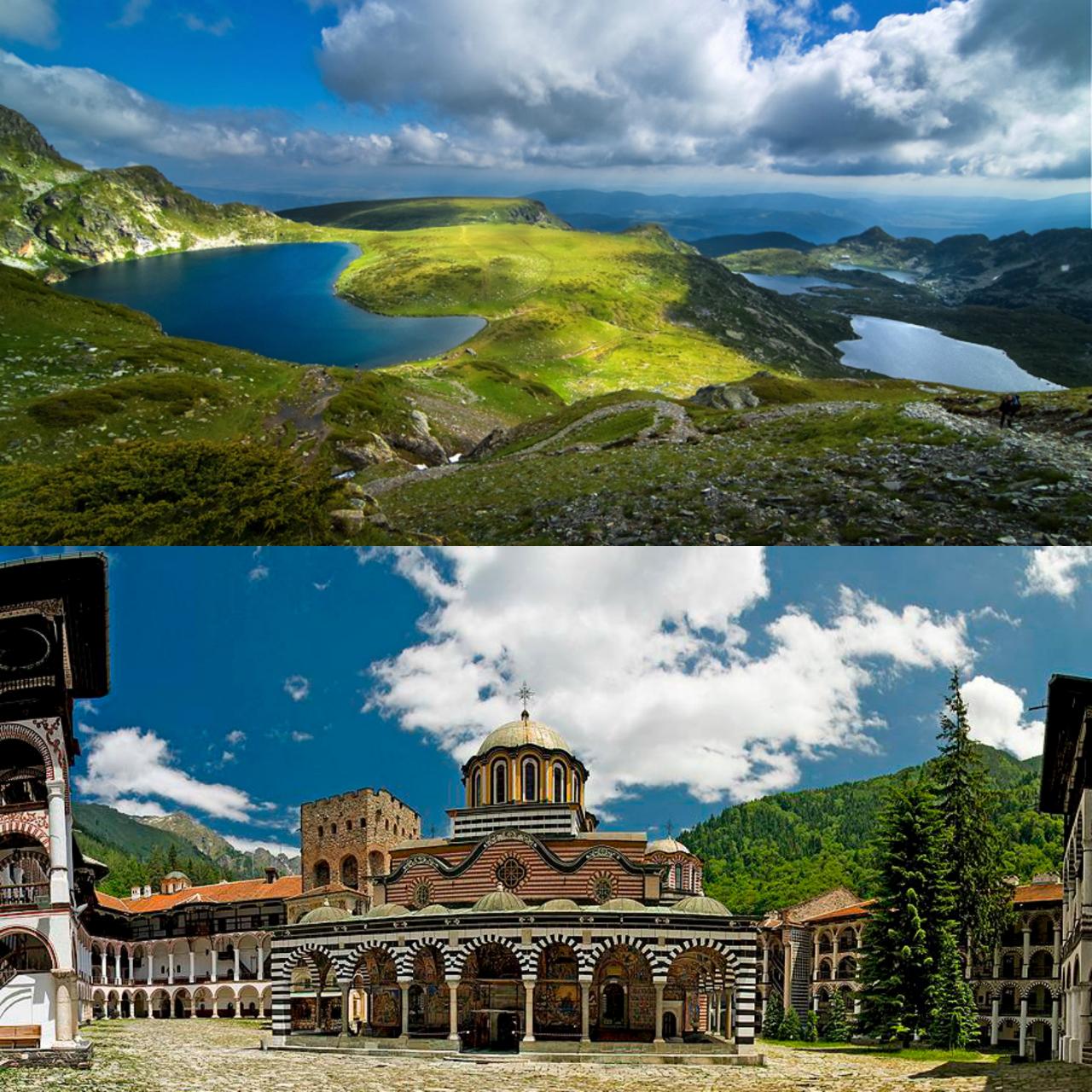 Rila monastery + 7 Rila lakes