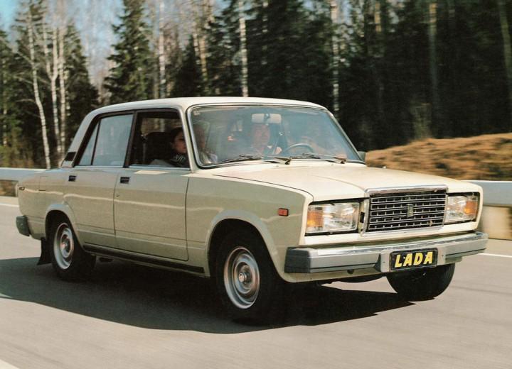 Classic Lada 2h Retro Car Tour
