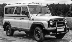 UAZ jeep (with roof) 2h Retro Car Tour