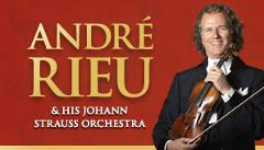 ANDRE RIEU & HIS JOHANN STRAUSS ORCHESTRA  2018 - LEVEL 1 SILVER RESERVED SEATING - OVERNIGHT MELBOURNE - SOLD OUT