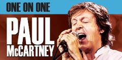 PAUL McCARTNEY -  ONE ON ONE TOUR