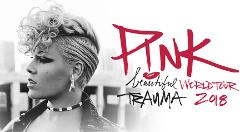 P!NK - BEAUTIFUL TRAUMA TOUR 2018 - A RESERVE SEATING - Monday 16th July 2018 - SOLD OUT
